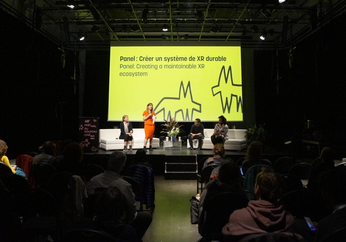 Retour sur le panel: Créer un système de XR durable - FNC