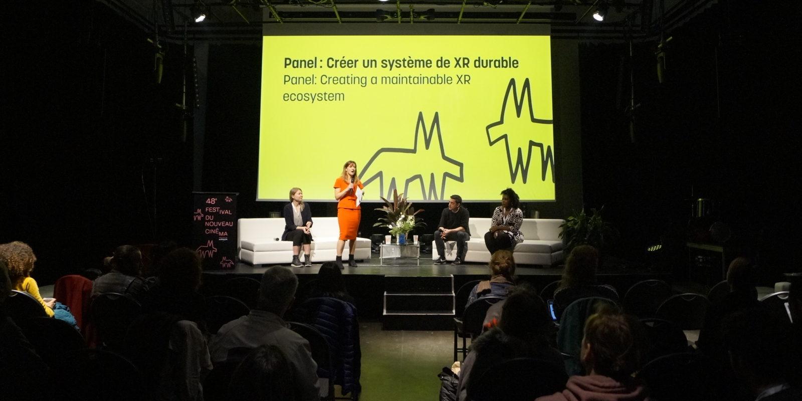 Projets présentés - Panel: Créer un système de XR durable - FNC