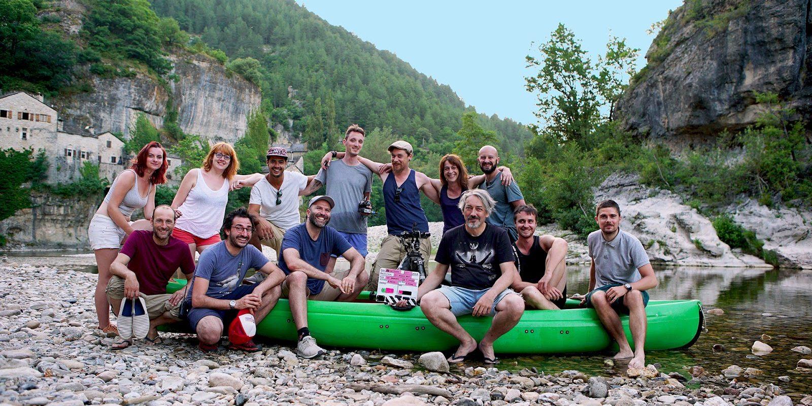 the passengers studio XR Couzin Films équipe de production